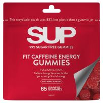 SUP Vitamins Fit Caffeine Energy Gummies 65 Pack