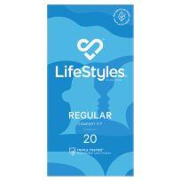 Lifestyle Condom Regular 20 Pack