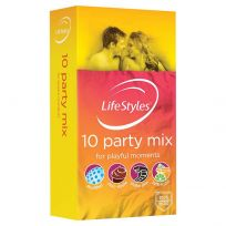 Lifestyle Condom Party Mix 10 Pack