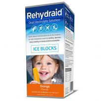 Rehydraid Electrolyte Orange Iceblocks 16 Pack