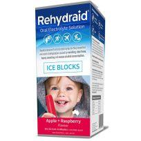 Rehydraid Electrolyte Apple Raspberry Iceblocks 16 Pack
