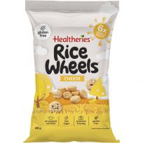 Healtheries Rice Wheels Cheese Flavour 6 x 20g