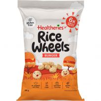 Healtheries Rice Wheels Burger Flavour 6 x 20g