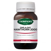 Thompson's Hawthorn 2000mg One-A-Day 60 Capsules