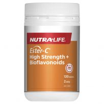 Nutra Life Ester C 1500mg + Bioflavonoids 120 Tabs