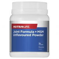 Nutra Life Joint Formula + MSM Unflavoured Powder 1kg