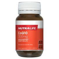 Nutra Life CoQ10 300mg 30 Capsules