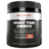 Musashi Night Time Aminos Fruit Punch 300g