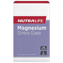 Nutra Life Magnesium Stress Ease 30 Capsules