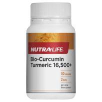 Nutra Life Bio Curcumin 16,500+ 30 Capsules
