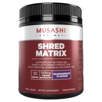 Musashi Shred Matrix Passionfruit 270G