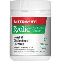 Nutra Life Kyolic Heart & Cholesterol Formula 120 Capsules