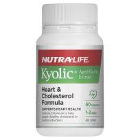 Nutra Life Kyolic Heart & Cholesterol Formula 60 Capsules