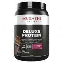 Musashi Deluxe Protein Jam Doughnut 900G