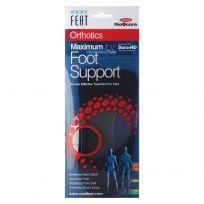 Neat Feat Orthotics Maximum Foot Support Large