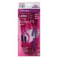 Neat Feat Orthotics Ladies 3/4 Active Fit Insoles Medium