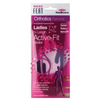Neat Feat Orthotics Ladies 3/4 Active Fit Insoles Large