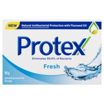 Protex Fresh Antibacterial Bar Soap 90g