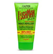 Bushman Plus Insect Repellent with Sunscreen Tube 75g