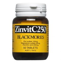 Blackmores Zinvit C 250 50 Tablets