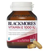 Blackmores Vitamin E 1000IU 30 Capsules