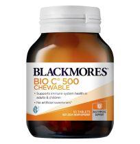 Blackmores Bio C 500mg Chewable 50 Tablets