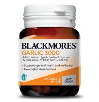 Blackmores Garlic 3000 60 Tablets