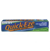 Quick Eze Chewy Peppermint Stick Pack 8 Tablets