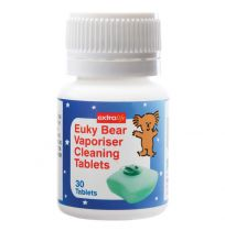 Euky Bear Steam Vaporiser Cleaning Tablets 30 Pack