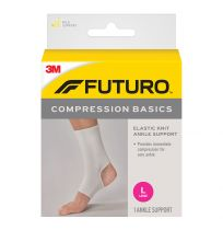 Futuro Ankle Compression Basics Elastic Knit Support Large