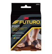Futuro Foot Therapeutic Arch Support Adjustable 1 Pair