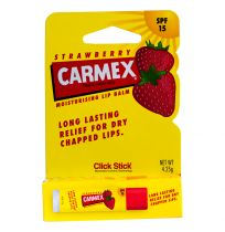 Carmex Lip Balm Strawberry Click Stick with SPF 15