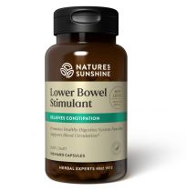Nature's Sunshine Lower Bowel Stimulant 100 Capsules
