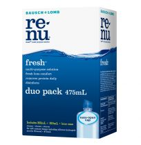 Bausch + Lomb Renu Fresh Solution Duo Pack 475ml