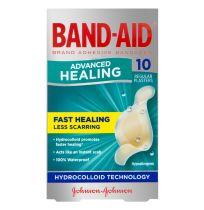 Band Aid Advanced Healing Regular 10 Pack