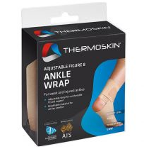 Thermoskin Adjustable Figure 8 Ankle Wrap S/M Elastic 605