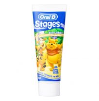 Oral B Stages Berry Bubble Fluoride Toothpaste for Kids 92g
