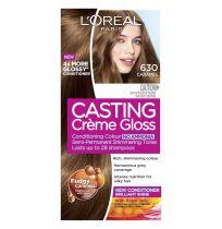 L'Oreal Casting Creme Gloss Hair Colour 630 Caramel