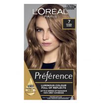 L'Oreal Preference Permanent Hair Colour 7 Vienna Dark Blonde
