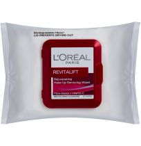 L'Oreal Paris Revitalift Cleansing Wipes 25 Pack