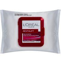 Loreal Paris Revitalift Cleansing Wipes 25 Pack