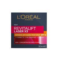 Loreal Paris Revitalift Laser X3 Anti-Ageing Day Moisturiser SPF 15 50ml