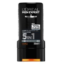 Loreal Paris Men Expert Total Clean Carbon Shower Gel 300ml