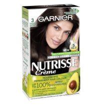 Garnier Nutrisse Hair Colour 3.0 Espresso Darkest Brown