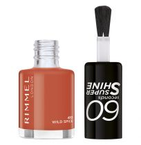 Rimmel London 60 Seconds Nail Polish #410 Wild Spice 8ml