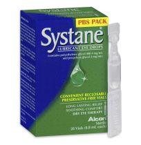 Systane Lubricating Eye Drops 0.8ml X 28 Vials