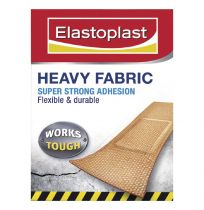 Elastoplast Heavy Duty Fabric Plaster Strips 20 Pack