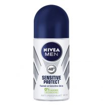 Nivea Men Antiperspirant Deodorant Sensitive Protect Roll On 50ml