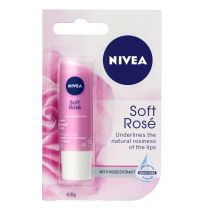Nivea Lip Balm Soft Rose 4.8g