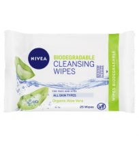 Nivea Biodegradable Cleansing Wipes 25 Pack